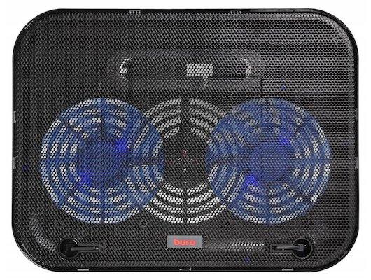 Подставка для ноутбука BURO BU-LCP140-B214 черный