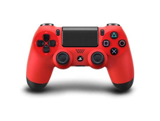 SONY Dualshock 4 Cont Magma Red v2/RUS (CUH-ZCT2E)