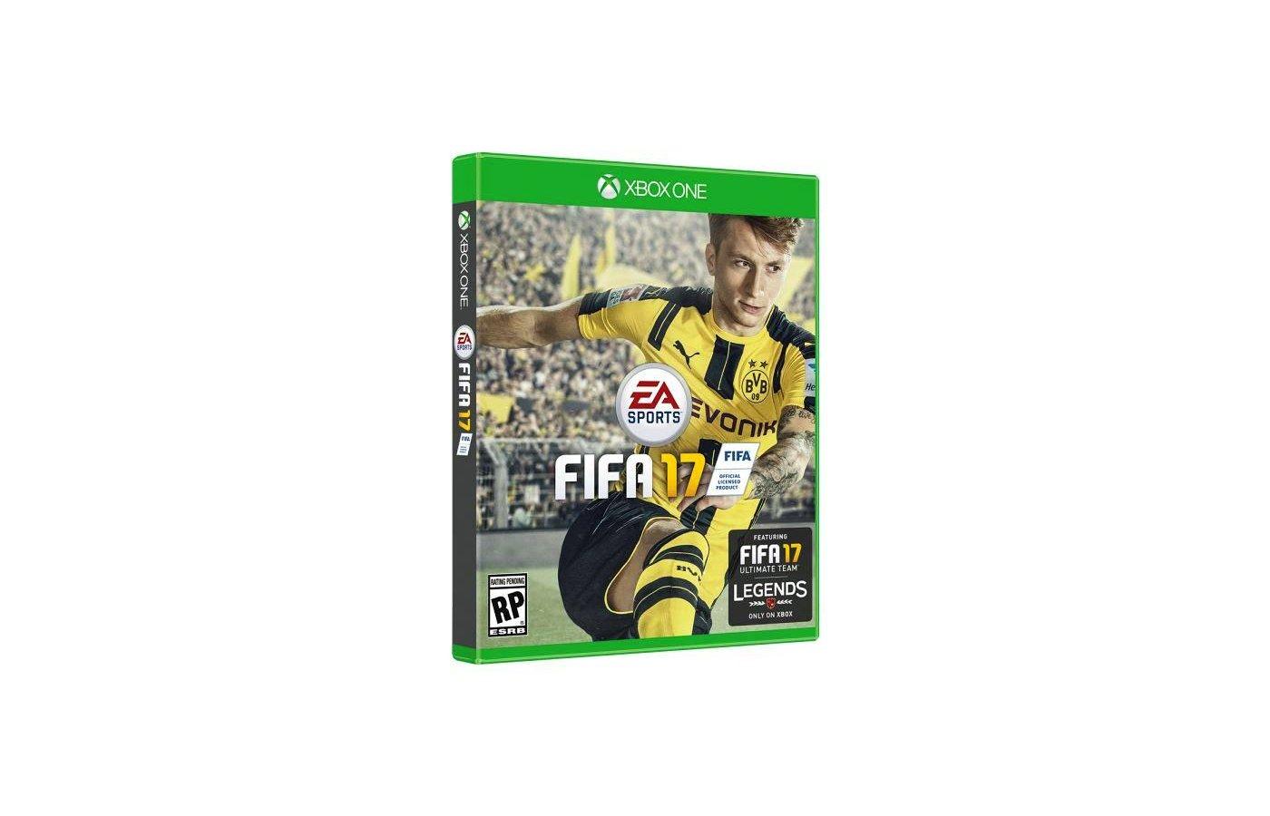 FIFA 17 Xbox 360 русская версия