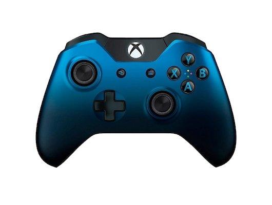 Microsoft Xbox One Беспроводной геймпад Shadow Blue (GK4-00029)