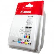 Фото Картридж струйный Canon CLI-471C/M/Y/Bk набор для Canon Pixma MG5740/MG6840/MG7740