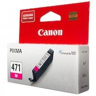 Картридж струйный Canon CLI-471M 0402C001 пурпурный