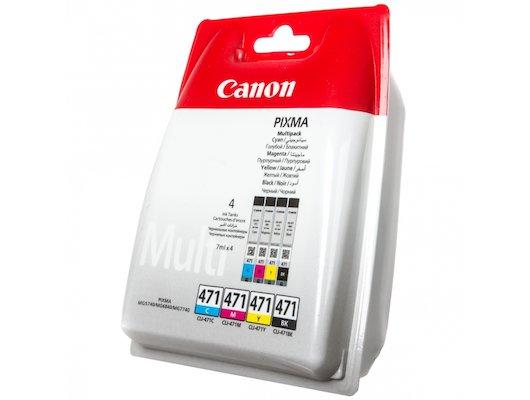 Картридж струйный Canon CLI-471C/M/Y/Bk набор для Canon Pixma MG5740/MG6840/MG7740