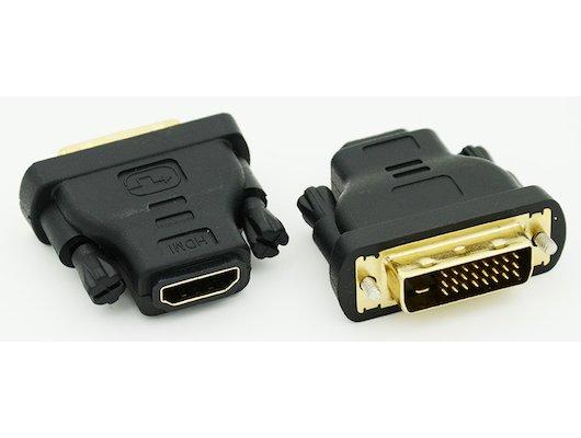 Переходник BURO DVI-D(m) - HDMI(f)