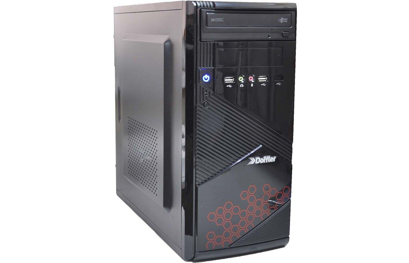 Системный блок Doffler a004 Multimedia AMD A8 7600 x4 3.8Gh/8Gb/500Gb/DVDRW/DOS