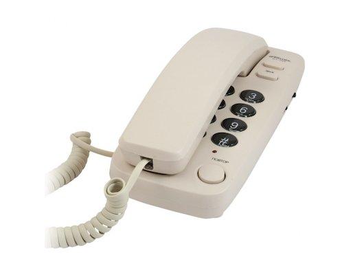 Проводной телефон Ritmix RT-100 слоновая кость