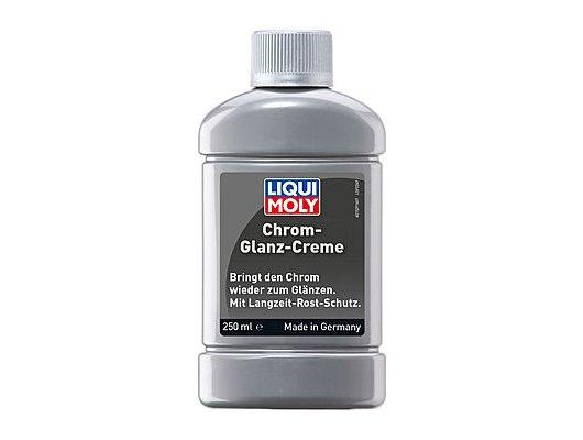 Автохимия LIQUI MOLY Chrom-Glanz-Creme для хромированных поверхностей, 0.25л, (1529) Полироль