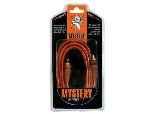 Кабели и разветвители MYSTERY RCA MPRO 1.2