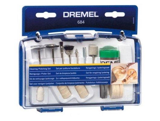 Инструмент DREMEL 684 Набор оснастки для чистки, 20 шт.