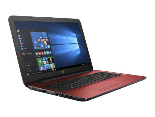 Ноутбук HP 15-ba507UR /Y6F19EA/ AMD E2 7110/4Gb/500Gb/15.6/WiFi/Win10 (Red)