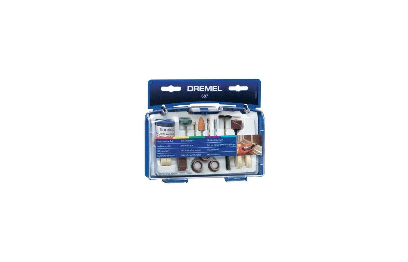 Инструмент DREMEL 687 Набор оснастки для дома, 52 шт.