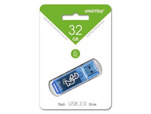 Флеш-диск USB 2.0 SmartBuy 32GB sb32gbgs-b