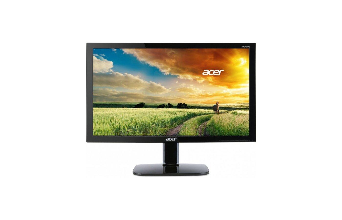 """ЖК-монитор более 24"""" Acer KA240HQBbid /UM.UX6EE.B10/"""