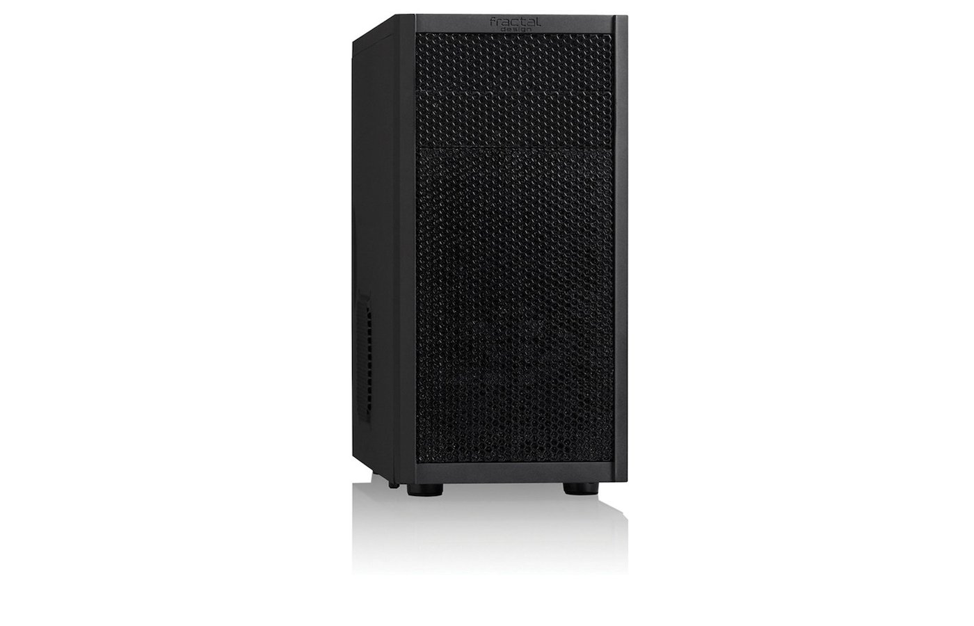 Корпус Fractal Design Core 1000 черный w/o PSU mATX 1x120mm 1xUSB2.0 1xUSB3.0 audio