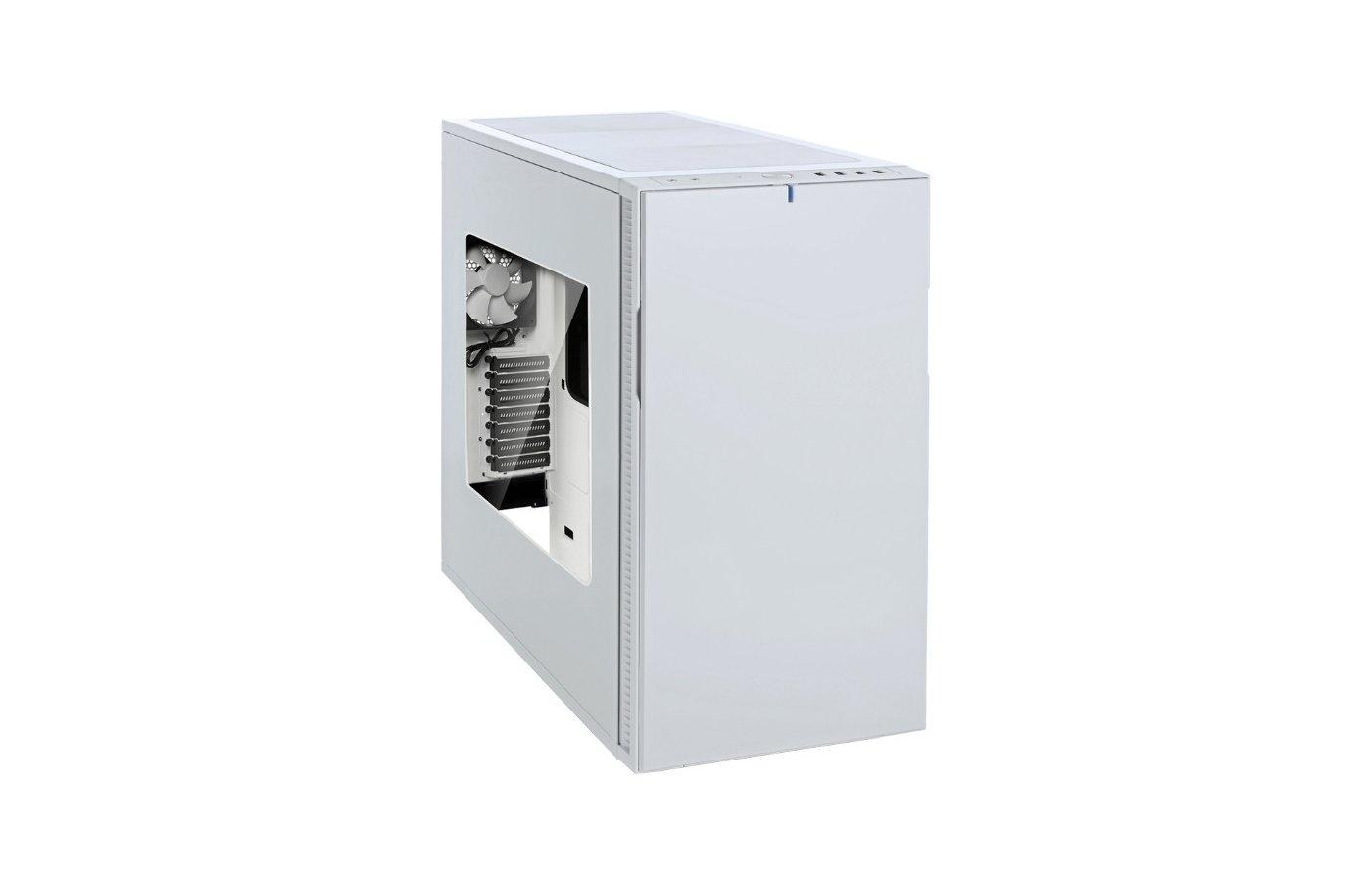 Корпус Fractal Design Define R5 Window белый w/o PSU ATX 8x120mm 8x140mm 2xUSB2.0 2xUSB3.0 audio front door