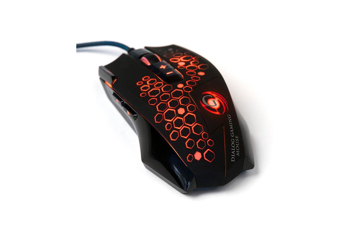 Мышь проводная Dialog MGK-43U