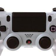 Фото PS4: Контроллер игровой беспроводной серебряный (Dualshock 4 Cont: CUH-ZCT1E: SCEE)