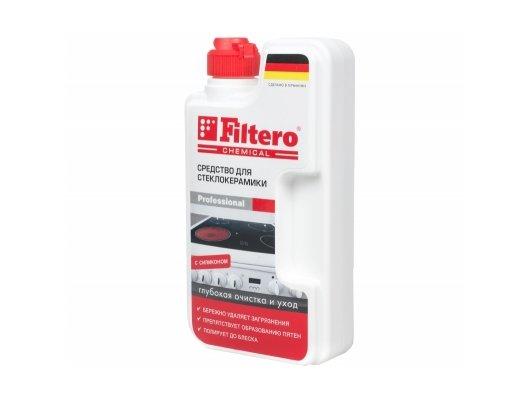 Чистящее средство FILTERO 202 для стеклокерамики 250мл