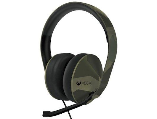 Microsoft Xbox One stereo headset M90 Green Camo (5F4-00002)