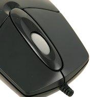 Фото Мышь проводная A4Tech OP-720 черный оптическая (800dpi) PS/2 (2but)