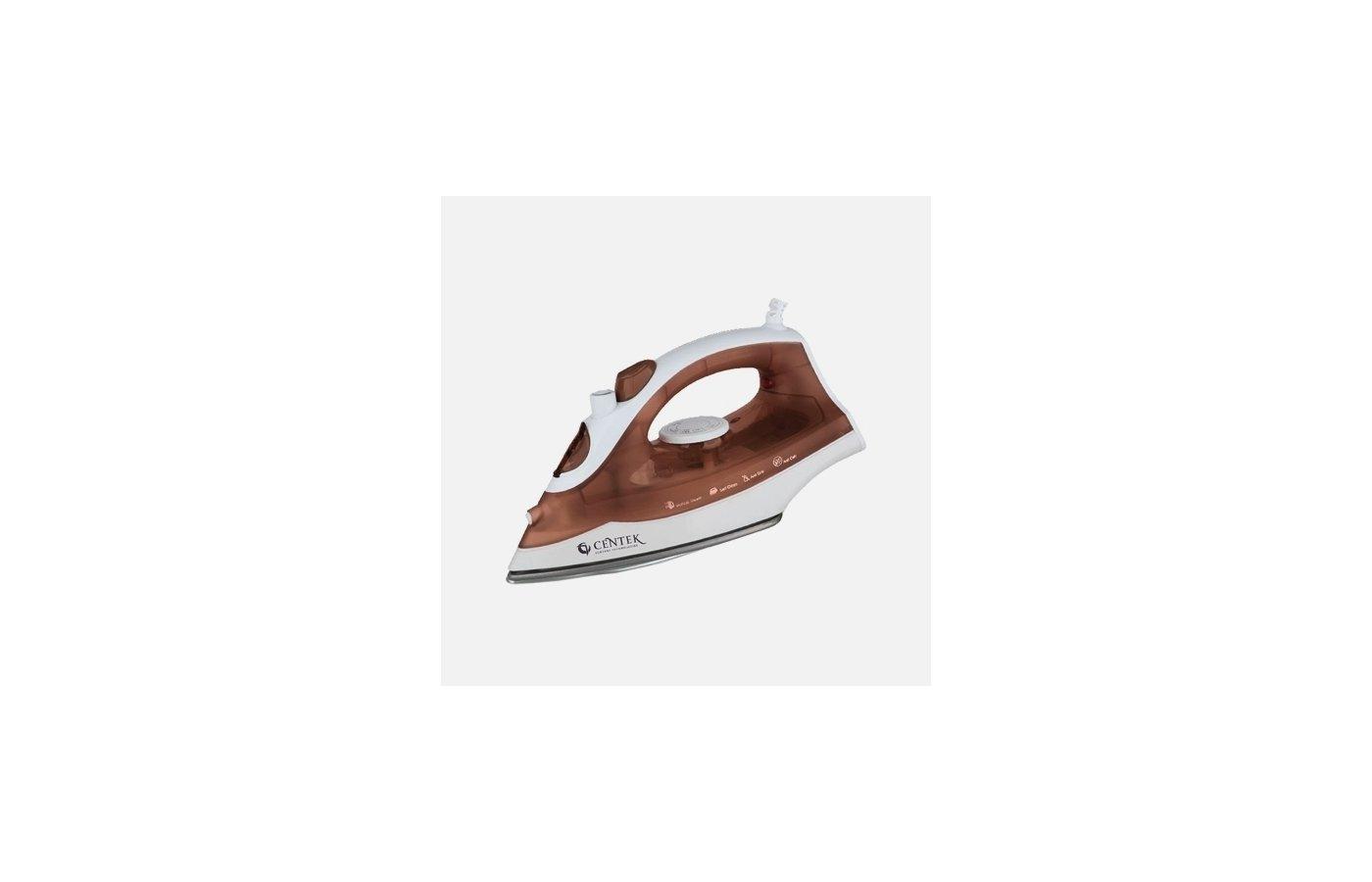 Утюг CENTEK CT-2319 коричневый