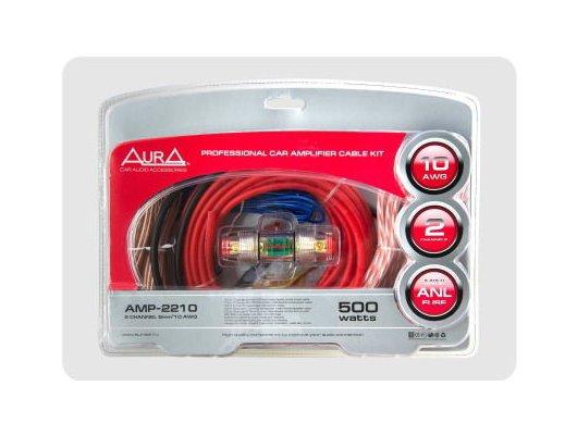 Комплект для подключения автозвука AURA AMP-2210