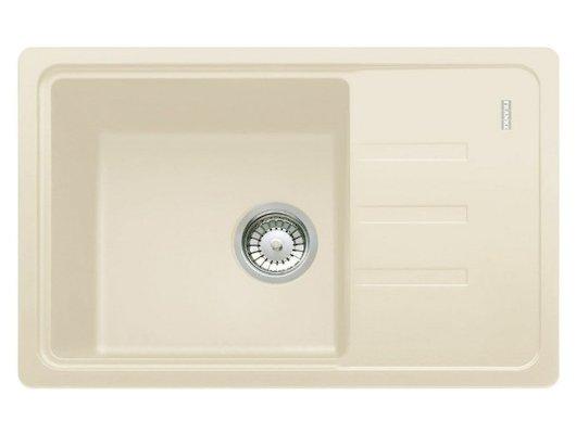 Кухонная мойка FRANKE BSG 611-62 ваниль