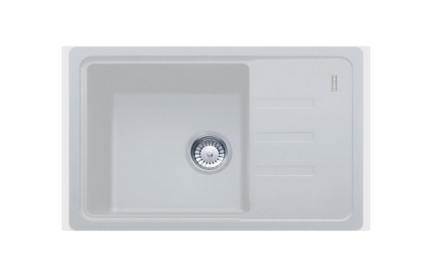 Кухонная мойка FRANKE BSG 611-62 серебро