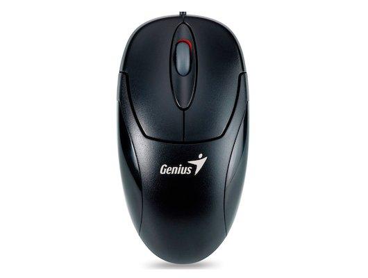 Мышь проводная Genius NetScroll 120 USB black