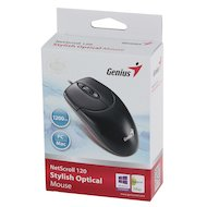 Фото Мышь проводная Genius NetScroll 120 USB black