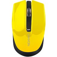Мышь беспроводная CANYON CNS-CMSW5Y Wireless Yellow