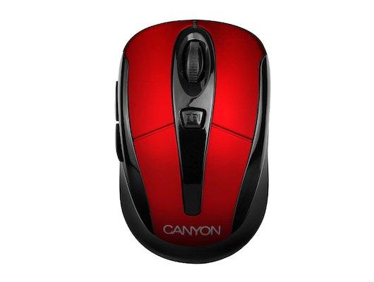 Мышь беспроводная CANYON CNR-MSOW06R Wireless Red