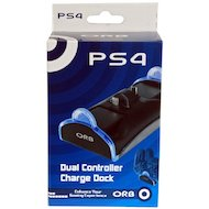 PS4: Зарядная станция ORB на 2 геймпада (020809)