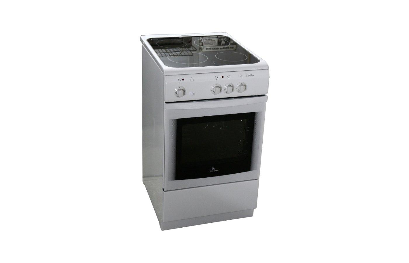 Плита электрическая DELUXE 506003.04 ЭС белая