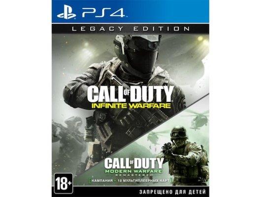 Call of Duty Infinite Warfare (PS4 русская версия)