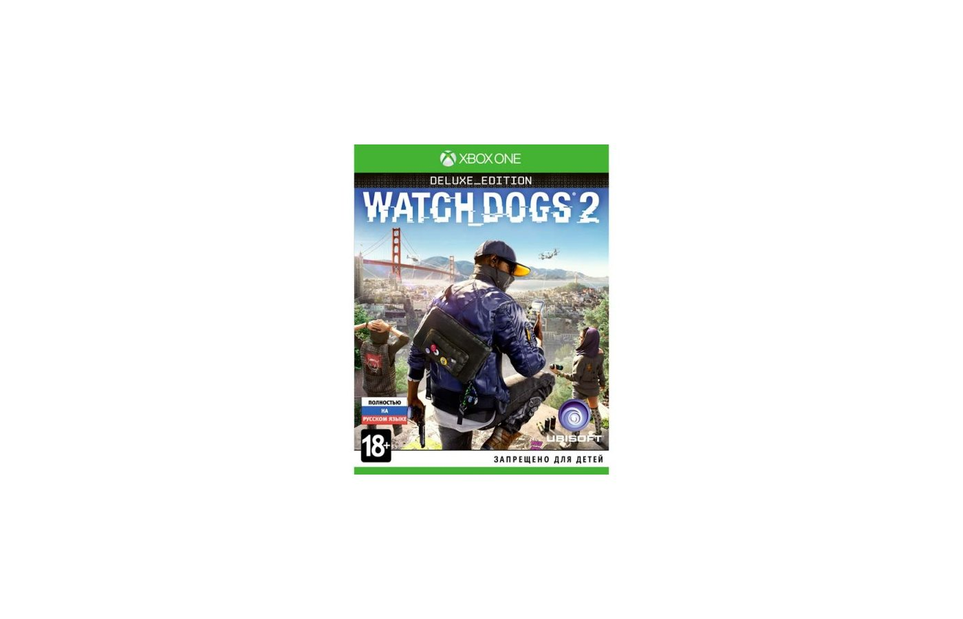 Watch_Dogs 2 (Xbox One русская версия)