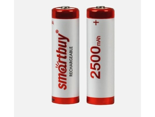 Аккумулятор Smartbuy R06 2500 mAh BL2 (уп. 2 шт.)