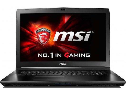 Ноутбук MSI GL72 6QD-224RU /9S7-179675-224/ intel i5 6300HQ/6Gb/500Gb/DVDRW/GTX 950M 2Gb/17.3HD+/WiFI/Win10