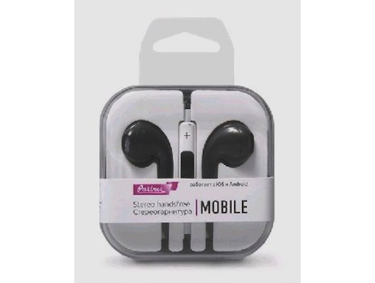 Гарнитуры Partner Mobile черные