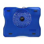 Фото Подставка для ноутбука CROWN CMLC-1001 silver/blue