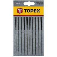 Фото Набор ручных инструментов TOPEX 06A020 Надфили набор 10 шт.