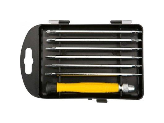 Набор ручных инструментов TOPEX 39D551 Отвертки прецизионные набор. набор 7 шт.
