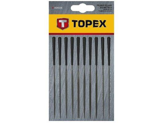 Набор ручных инструментов TOPEX 06A020 Надфили набор 10 шт.