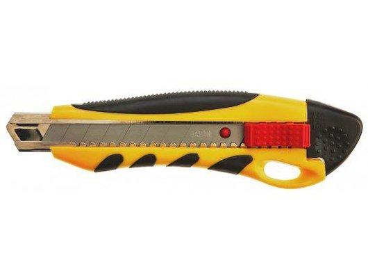 Расходные материалы для инструментов TOPEX 17B428 Нож с отламывающимся лезвием. 18 мм