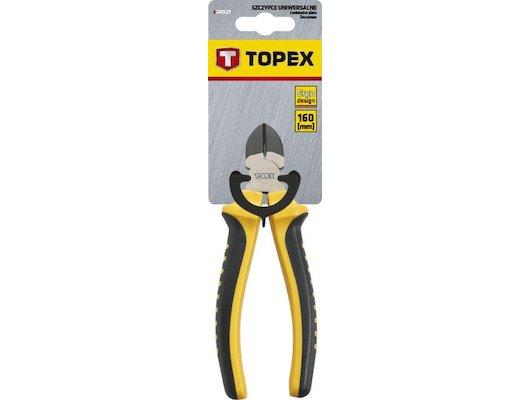 Расходные материалы для инструментов TOPEX 32D106 Кусачки боковые. 160 мм