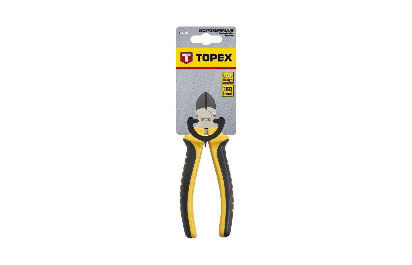 Набор ручных инструментов TOPEX 32D106 Кусачки боковые. 160 мм