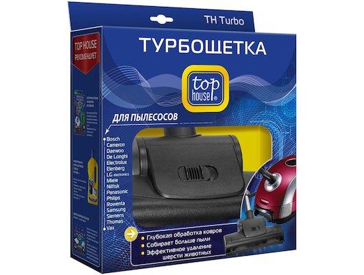 Запчасти и комплектующие  TOP HOUSE 390315 TURBO Турбощетка для пылесосов + переходник 32-35 мм