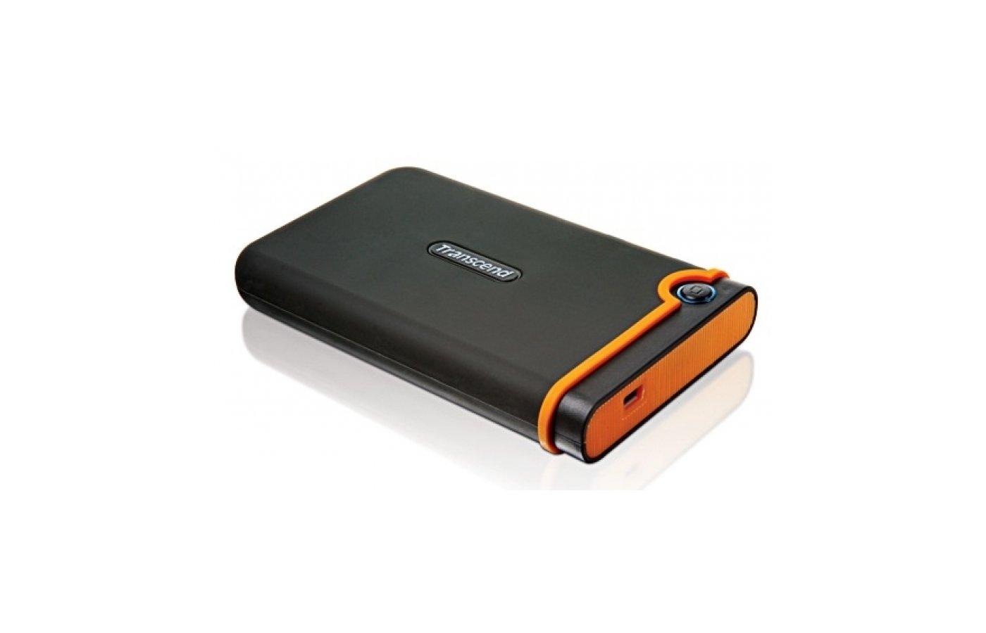 "Внешний жесткий диск Transcend, 1TB StoreJet Mobile 2.5"", USB2.0 (TS1TSJ25M2)"