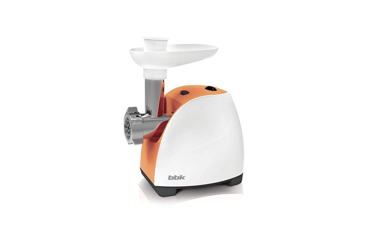 Мясорубка BBK MG1601 бел/оранж