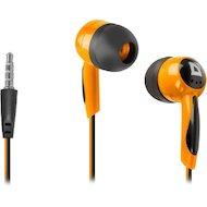 Фото Наушники вкладыши Defender Basic 604 черный + оранжевый